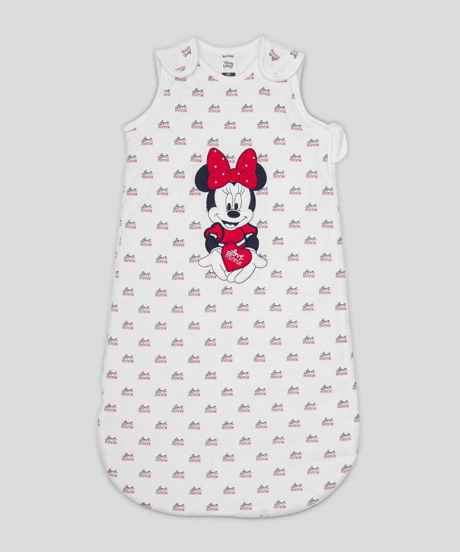 Бебешки зимен спален чувал Love Minnie Mouse 3.5тог за момиче