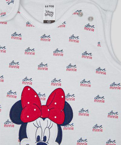 Бебешки зимен спален чувал Love Minnie Mouse 3.5тог за дете от 0 до 2г.