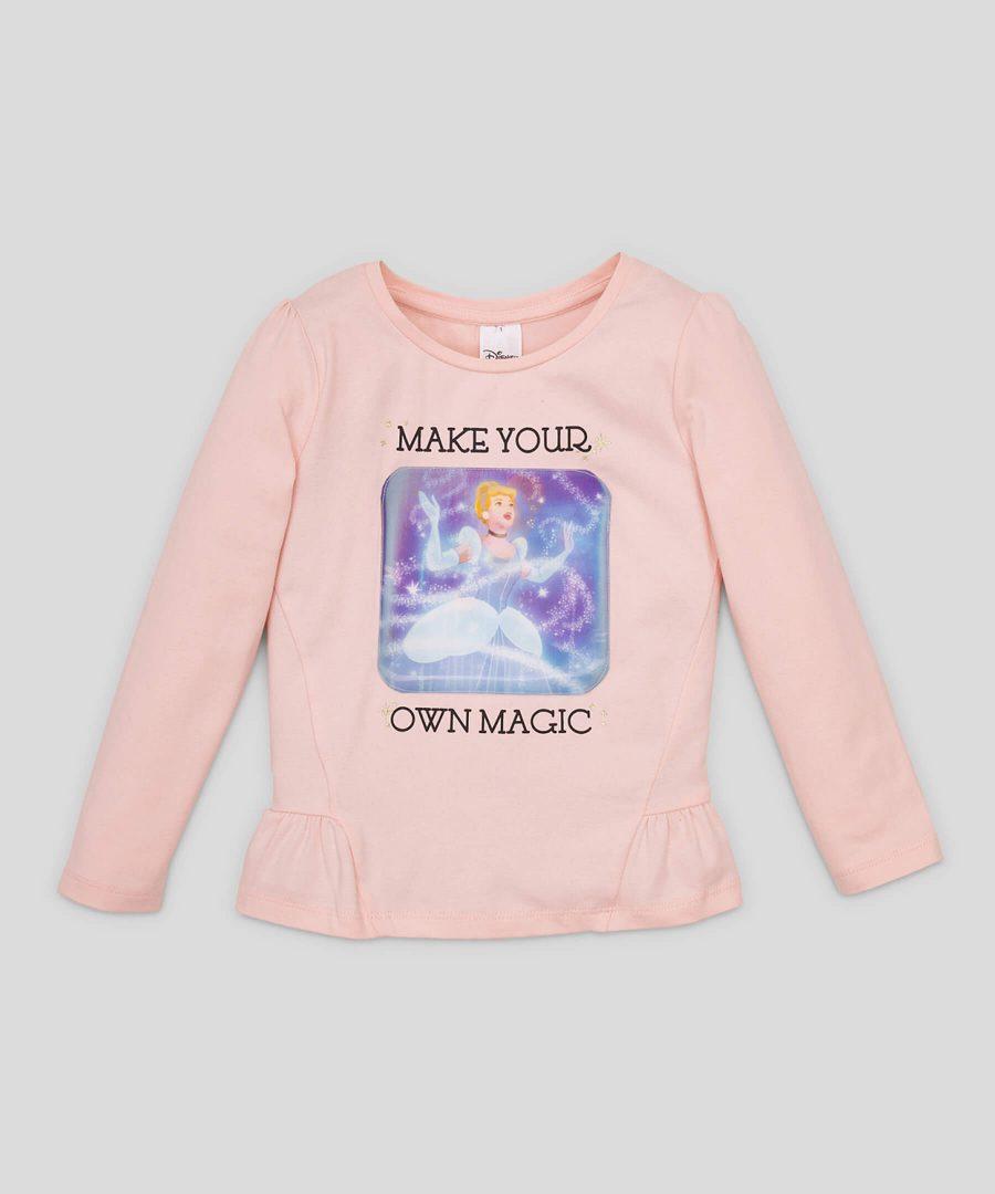 3D блуза Disney Princess от био памук