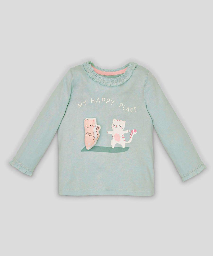 Блуза с котета от био памук