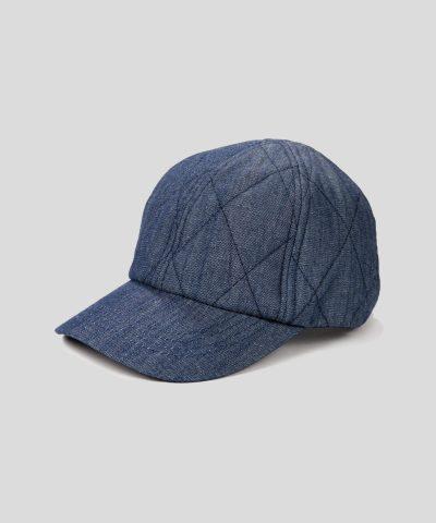 Зимна дънкова шапка