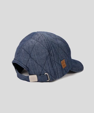 Детска зимна дънкова шапка