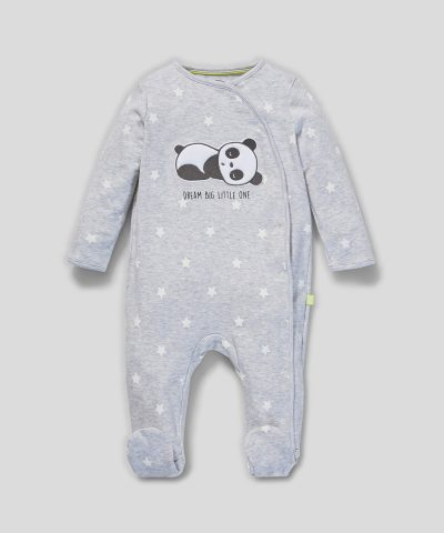 Гащеризон с панда от био памук