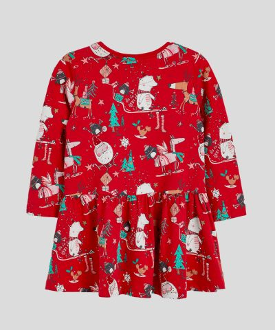 Бебешка и детска Коледна рокля