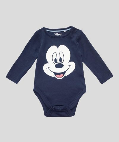 комплект 3 части Мики Маус от био памук за бебе момче