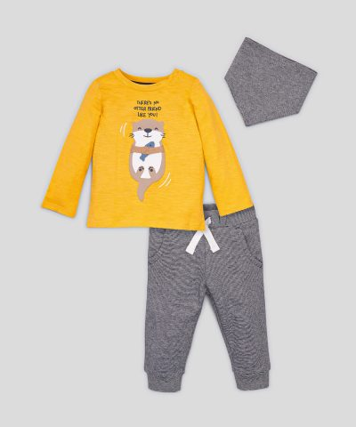 Комплект блуза, панталони и бандана