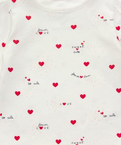 комплект Forever Love от био памук за момиче