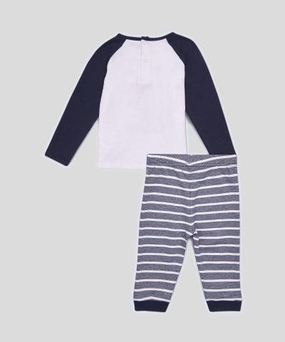 бебешки и детски комплект Hello Ladies от био памук