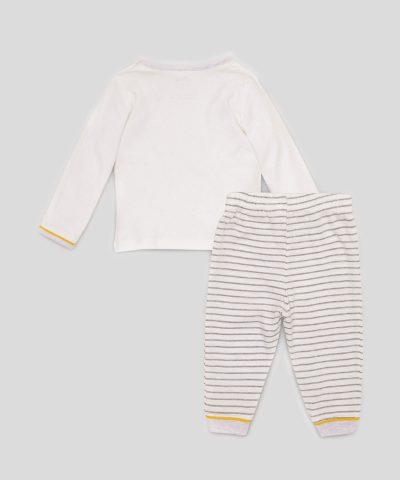 Бебешки и детски комплект Мечо пух и прасчо от био памук