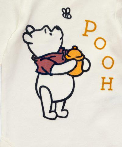 комплект с Мечо пух от био памук за бебета