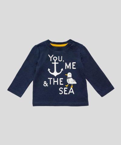 комплект You, Me & the Sea от био памук за момчета