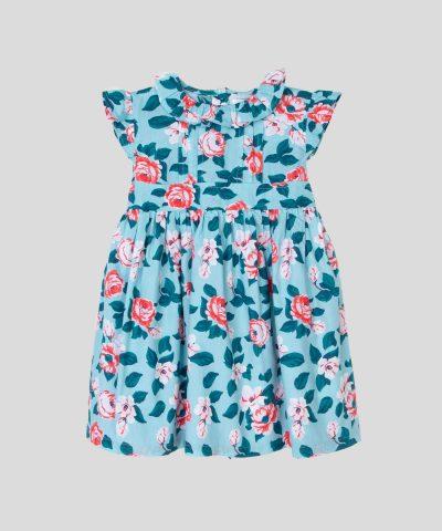 рокляв светлосин цвят