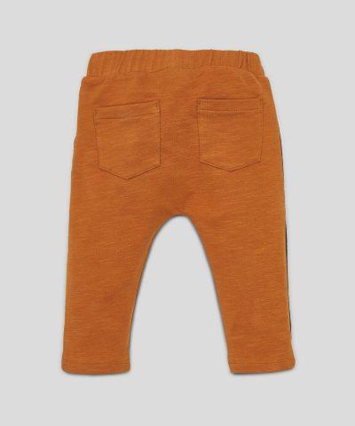 Бебешки и детски спортен панталон с кант за момче