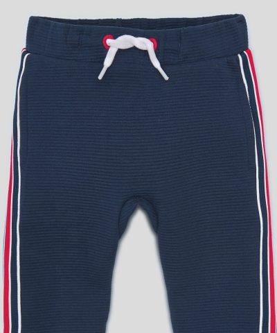 Спортен панталон в тъмносин цвят за момчета