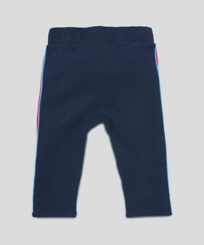 Бебешки и детски спортен панталон в тъмносин цвят