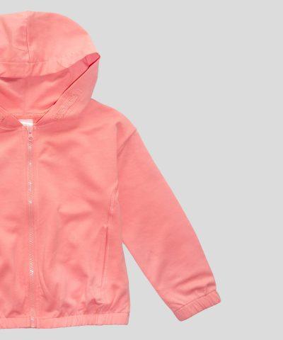 Детски суитчер в цвят праскова от био памук