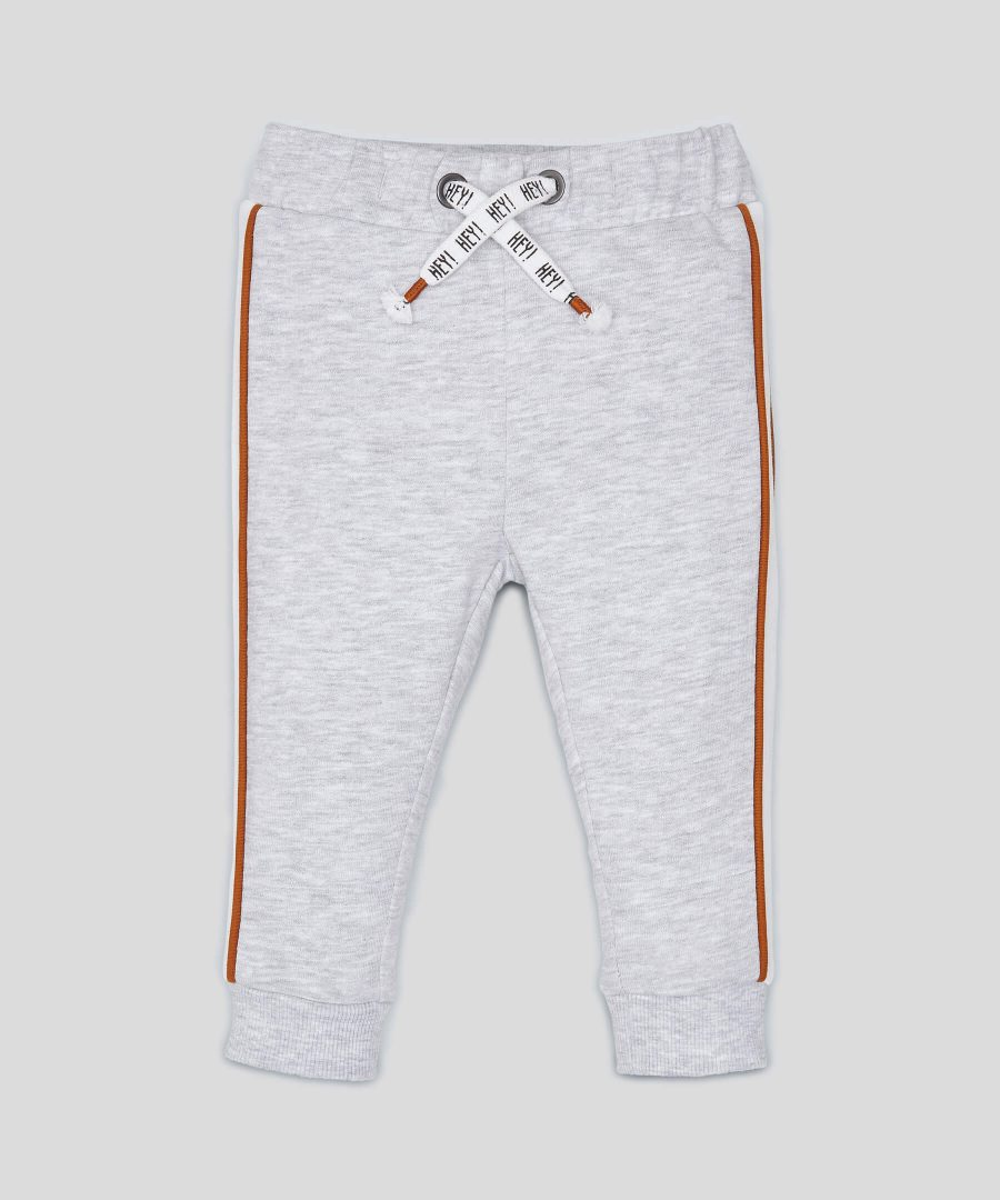 ватиран панталон в сив цвят