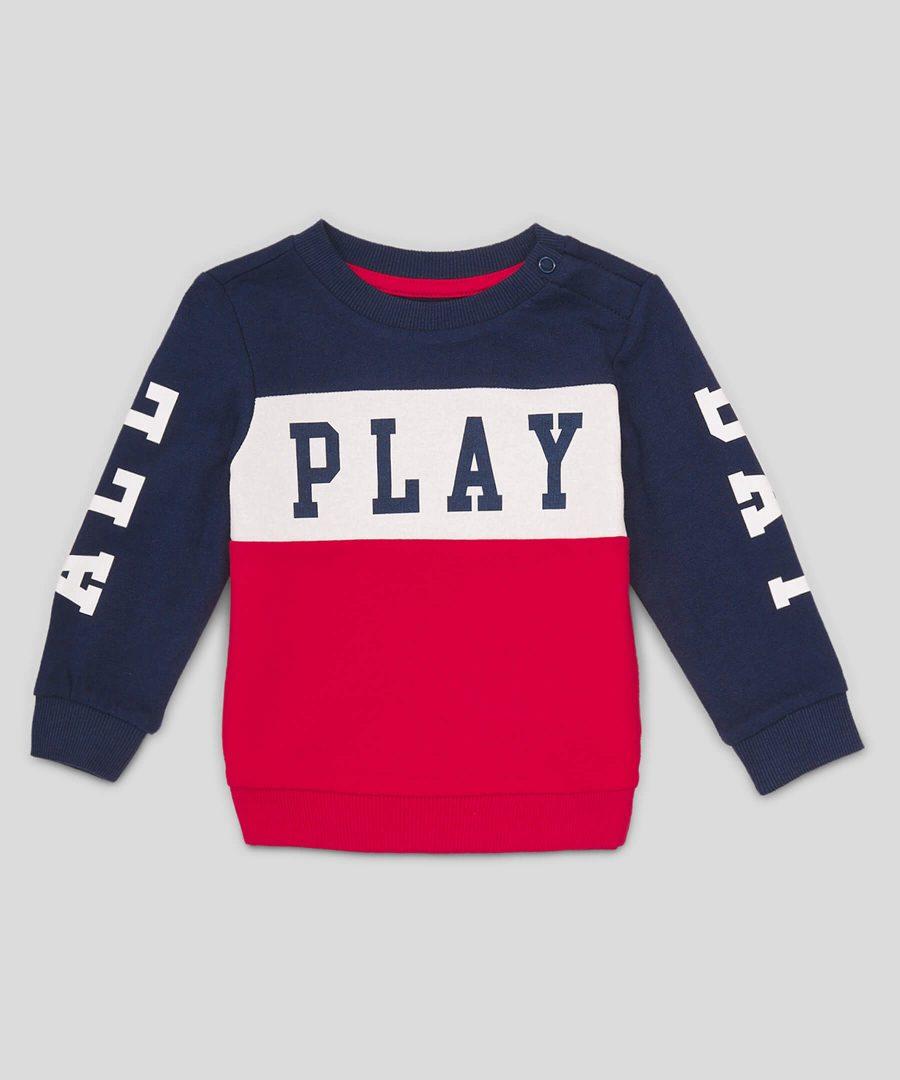 Ватирана блуза Play от био памук