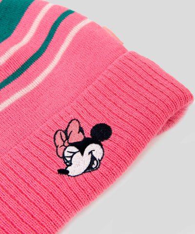 зимна шапка Мини Маус за момиче