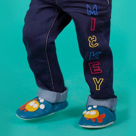 бебешки и детски обувки и пантофки
