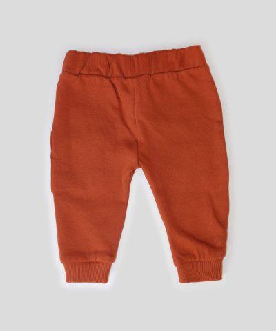 бебешки ватиран панталон с Мечо пух