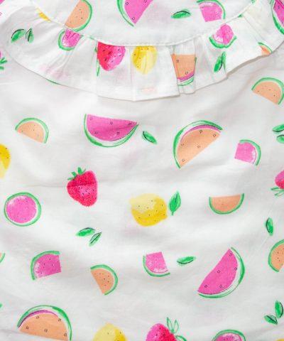 Блуза с плодчета
