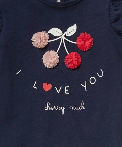 Комплект I love you от био памук за момиче