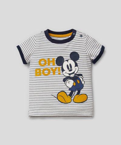Комплект Мики Маус Oh Boy от био памук за бебе момче