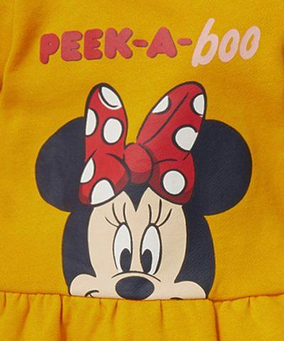 Бебешки комплект Мини peek a boo от био памук