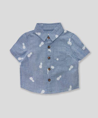 Комплект риза и панталонки с ананаси