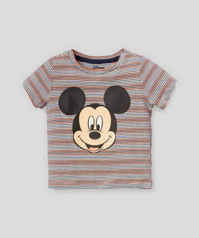 Летен комплект Мики Маус от био памук за момченца