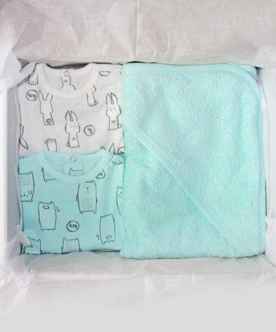 Подаръчна кутия за новородено бебе