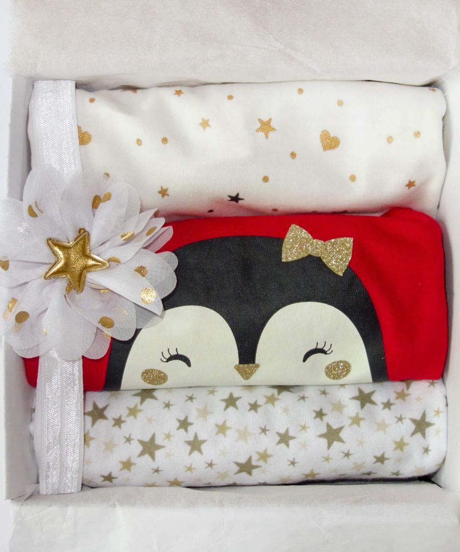 Подарък за бебе момиче в красива кутия