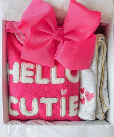 Подарък за бебе момиче Hello Cutie