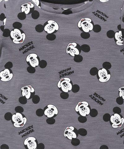 Тениска Мики Маус от био памук за бебета и деца