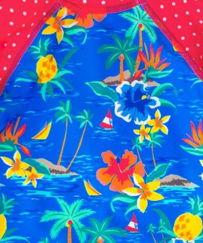 Бански костюм с UV защита за бебета и деца момиченца