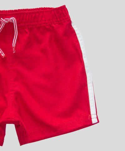 Бебешки бански в червен цвят