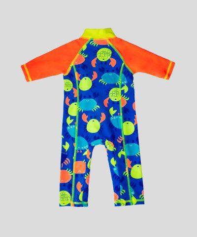 Бебешки бански в неон цветове с UV защита