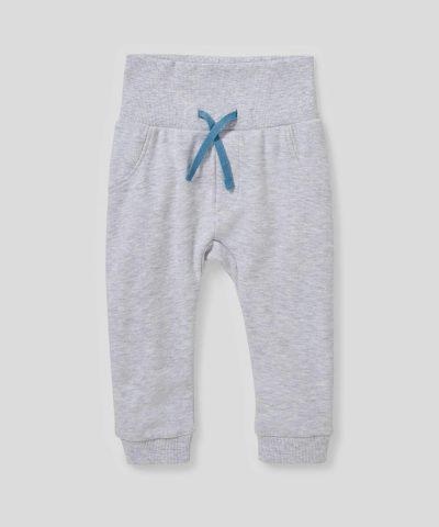 Комплект боди и панталони с мече от био памук