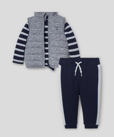 Комплект елек, блуза и панталони