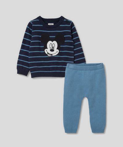 Памучен плетен комплект Мики Маус