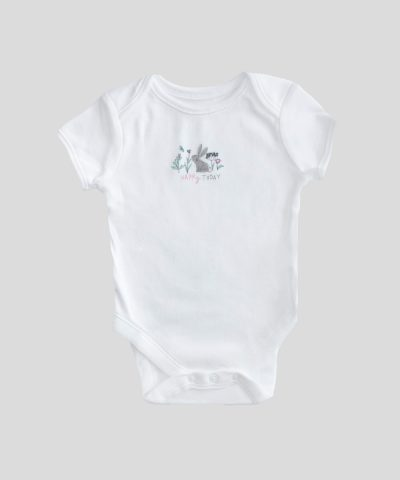 Комплект 4бр бебешки бодита с къс ръкав