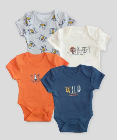Комплект бодита за новородено wild animals