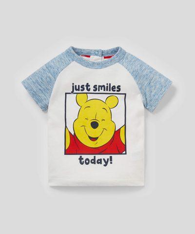 Комплект Мечо пух Smiles Today от био памук