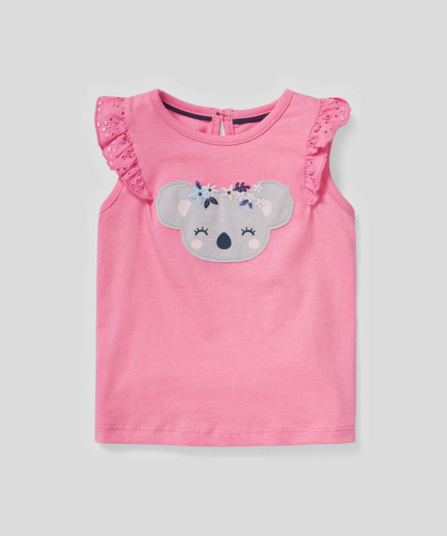 Блуза с коала от био памук