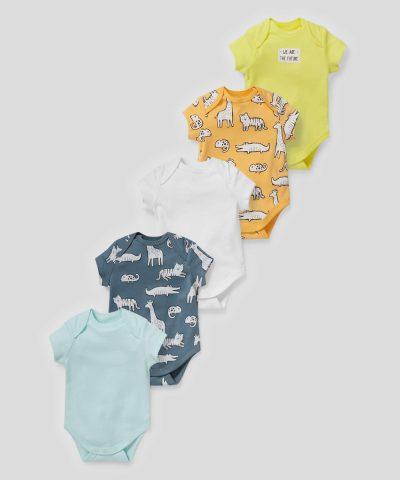 Комплект бодита Safari от био памук