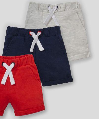 Комплект къси панталонки от био памук