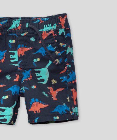 Комплект къси панталонки с динозаври