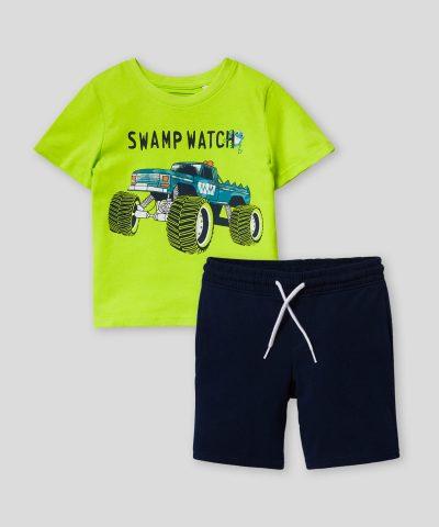 комплект Swamp Watch от био памук
