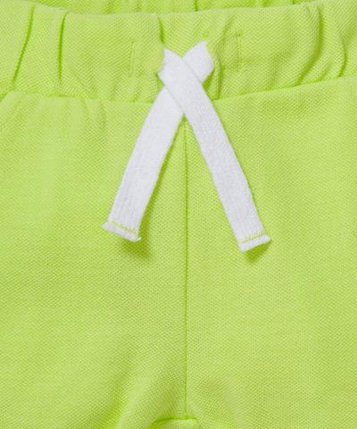 Къси спортни панталонки от био памук